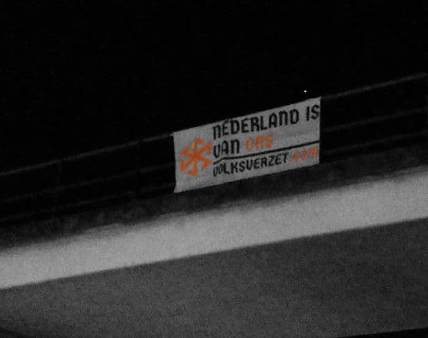 Banner activisme Weert