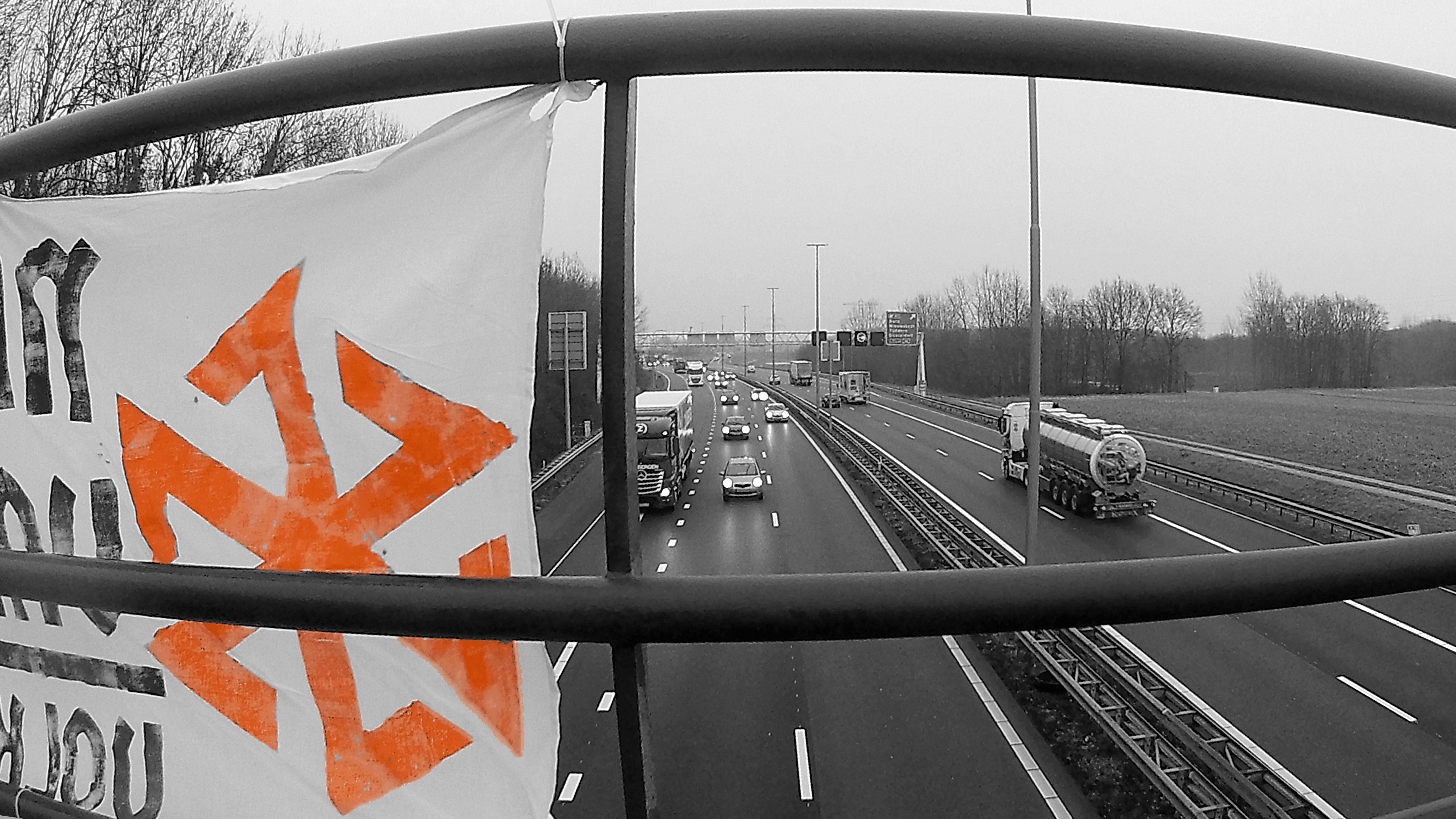 Banner activisme Born en Goirle